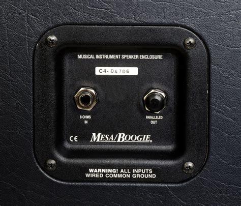 mesaboogie  rectifier horizontal guitar cabinet