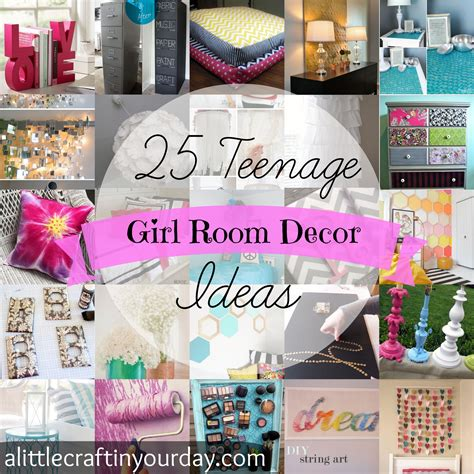 bedroom decorating ideas for teenage girl diy teen girl room decor ideas