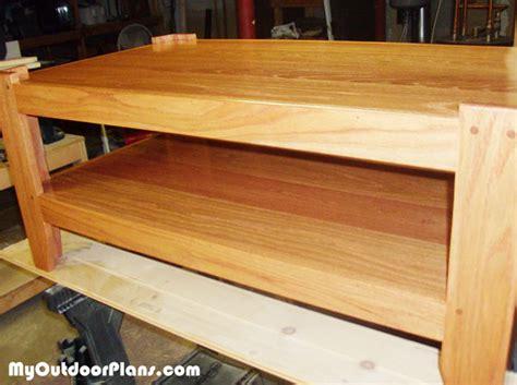 diy oak coffee table myoutdoorplans free woodworking