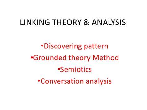 pattern analysis in qualitative research qualitative analysis