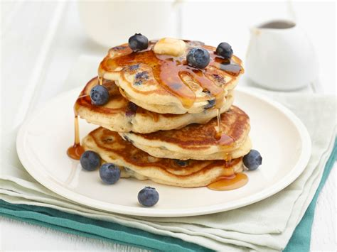 Recipe Blueberry Pancakes | easy blueberry pancakes recipe dishmaps