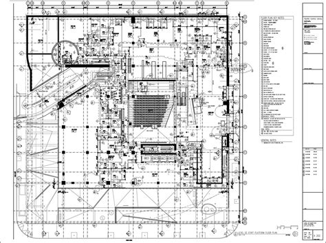 seattle public library floor plans architecture photography a202 model 1 11662