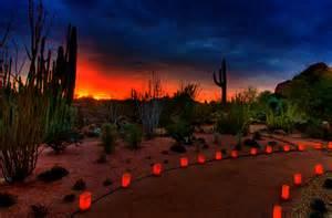 Desert Botanical Garden Luminaria Las Noches De Las Luminarias At Desert Botanical Garden The Roaming Boomers