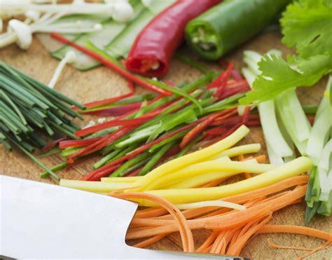 ricette cucina donna moderna tagliare le verdure tutte le tecniche cucina donna