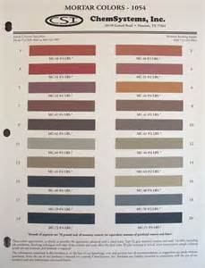 mortar colors helix color systems chem systems inc mortar color