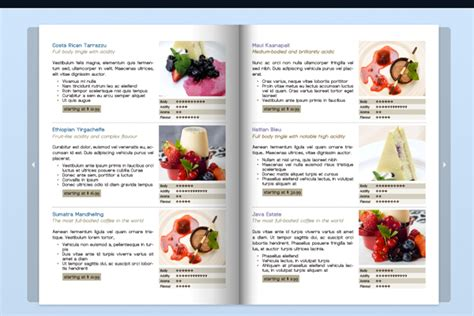 product catalogue design templates designing a menu holder factors to consider