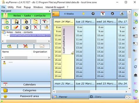 printable planner software windows day planner free picfreeget
