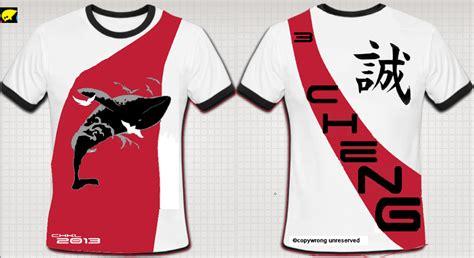 design baju kelas jenis jersey ayam make class t shirt