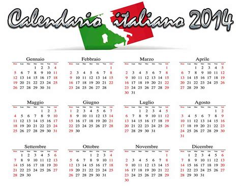 Calendario Italiano Calendario En Italiano 2014 Calendarios 2018 Para Photoshop