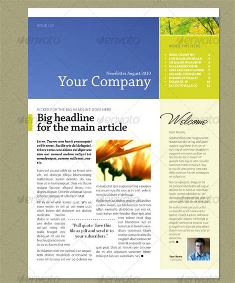 indesign newsletter template flyer ideas pinterest