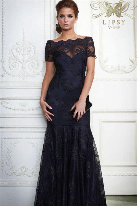 brand new lipsy the shoulder black lace maxi fishtail dress prom bardot the o jays