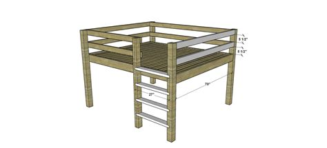 diy furniture plans   build  queen sized