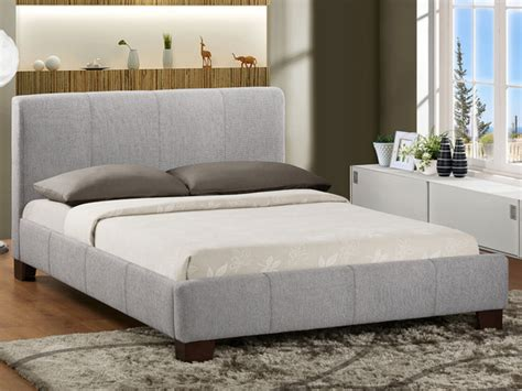 King Size Fabric Bed Frame Birlea King Size Light Grey Fabric Bed Frame