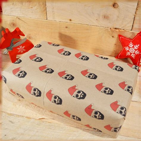 Handmade Wrapping Paper - handmade beard wrapping paper by day