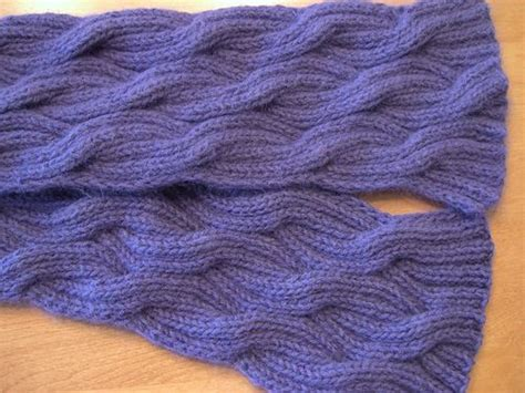 how to knit reversible cables 17 best images about knitting reversible on