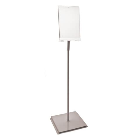 a4 notice holder floor stand