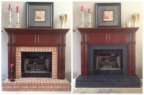 stain brick ideas  pinterest stained brick