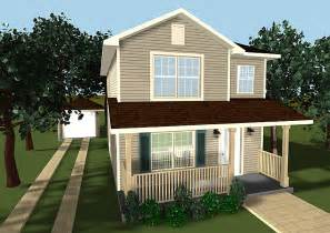 Two Story House Small Two Story House Plans With Porches Small House