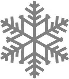 snowflake silhouette free vector silhouettes