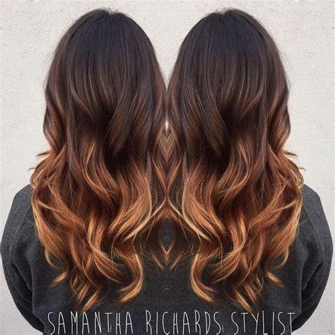 brunette ombres pictures top 25 best brunette caramel highlights ideas on