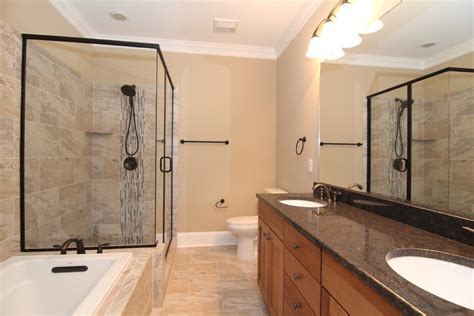 galley style bathroom small master bathroom bathroom craftsman with raleigh
