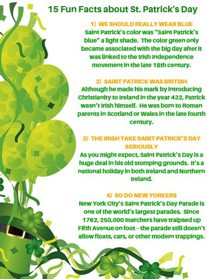 st facts for happy st s day fox valley the rullo team real