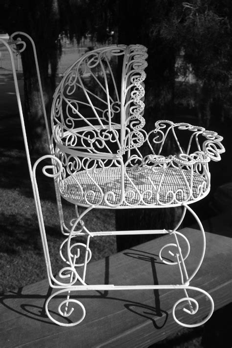 Baby Carriage Decorations by Set Of 10 Antique Wire Carriages For Baby Shower