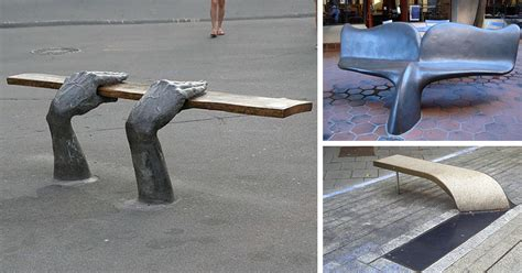 public benches 15 most creative public benches