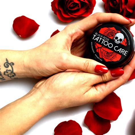 tattoo maintenance care black care