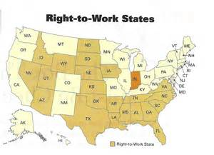map of and surrounding states indiana right to work fuels michigan s border war