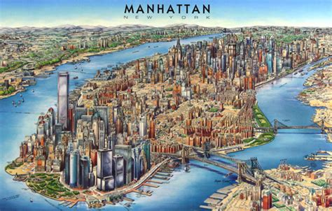 3d maps detailed 3d map of manhattan manhattan detailed 3d map vidiani maps of all countries in