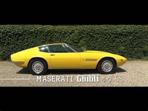 maserati ghibli 4.9 ss coupÉ 1970 | gallery aaldering tv