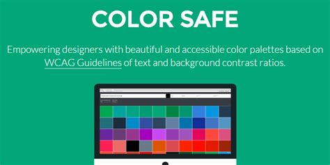 color safe color safe accessible web color combinations tool
