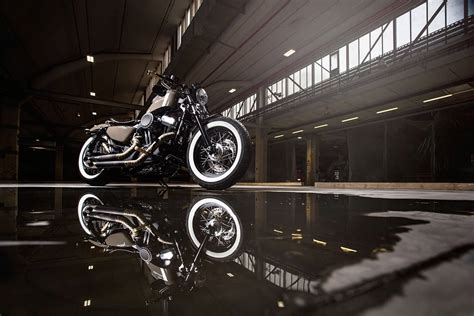 Harley Davidson Sportster Tieferlegen by Hd Sportster 48 Titan
