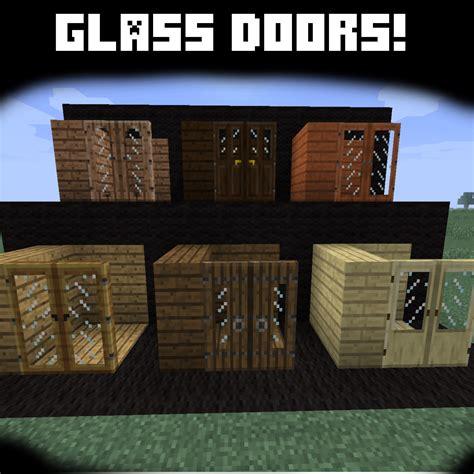 Door Textures Minecraft Glass Door Minecraft