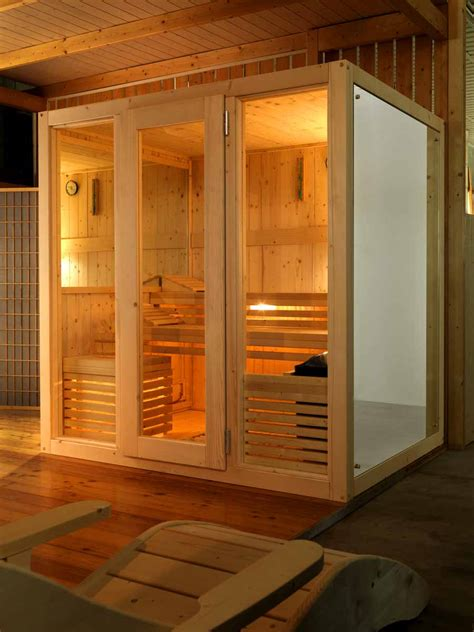 sauna doccia sauna finlandese e sauna con bagno turco hammam