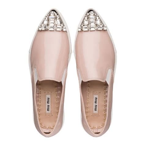 10 Coolest Miu Miu Shoes by Get Your Sneak On 8 Styles To Slip On