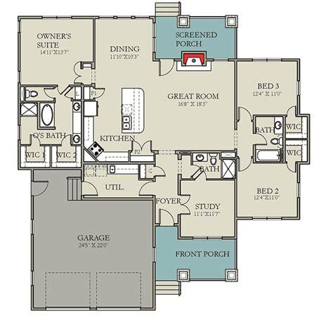 split two bedroom layout modern prairie pleaser 25402tf 1st floor master suite