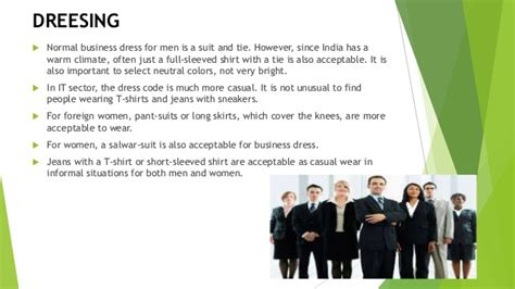 Mba Dress Code India by Indian Culture