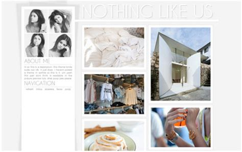 themes for tumblr two columns most popular two column tumblr themes with sidebar