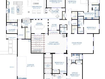 floor plans with courtyards mexzhouse