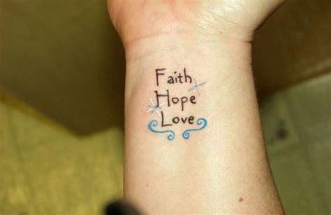 69 Adorable Faith Wrist Tattoos Faith Tattoos With Ddoves On Wrist