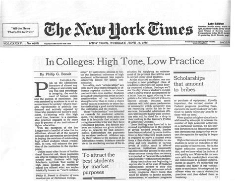 New York Essays by New York Times Op Ed Essay Philipbenoit