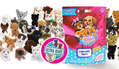 puppy in my pocket playsets puppy in my pocket miniature figures to collect and