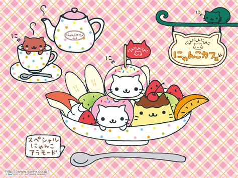 wallpaper japanese cat kawaii food characters 183 penflip