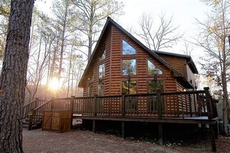 Cabins In Broken Bow Oklahoma On The Lake by Winding Brook Lodge Cabin In Broken Bow Ok Sleeps 4