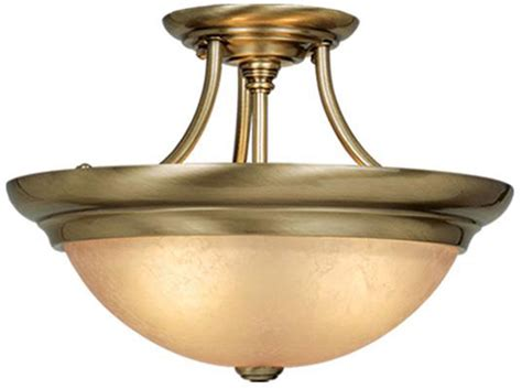 Ceiling Lights Antique Brass Vaxcel Cf38215a Antique Brass Ceiling Light Fixture Vxl Cf38215a