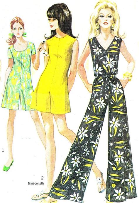 short jumpsuit pattern free 1960s womens jumpsuit and romper pattern simplicity 8146