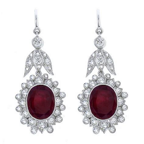 Ruby 3 85ct 264 best vintage earrings images on vintage