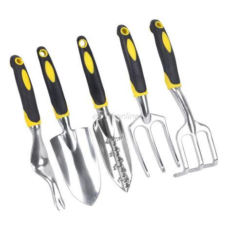 Rake Set ergonomic garden tools set mini shovel trowel rake plant flower gardening ebay